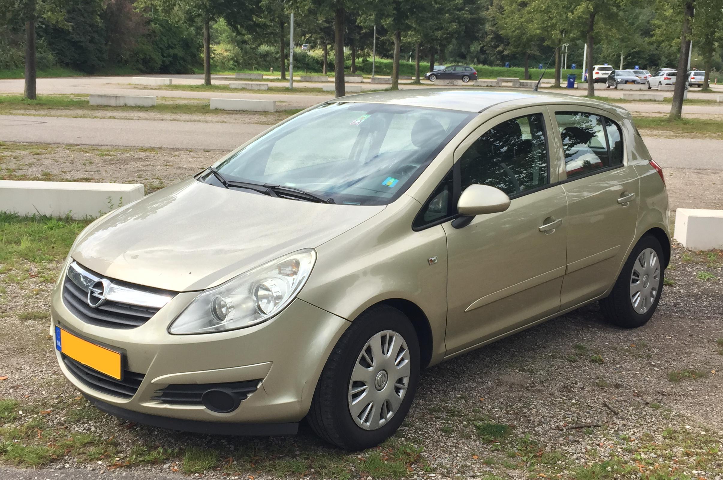 Opel Corsa Gaasperplas