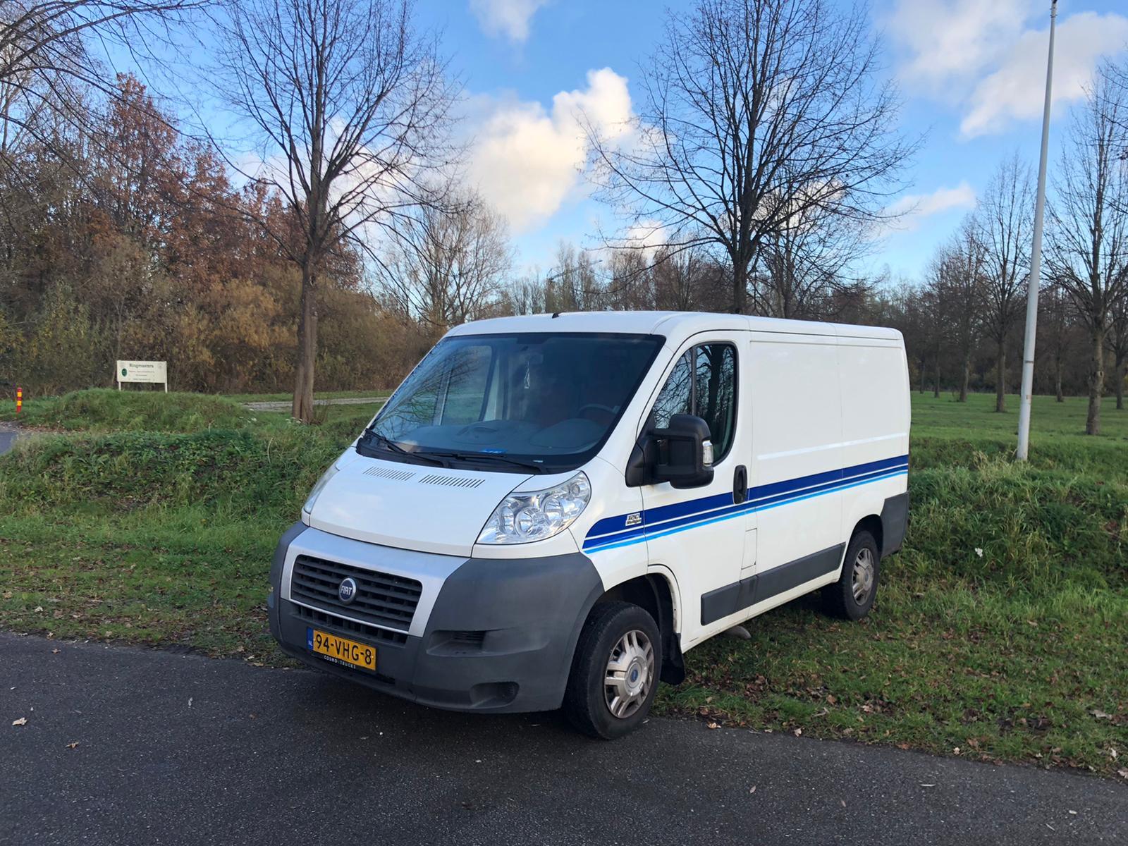 Fiat Ducato Vrachtbus I Rent-a-Brik